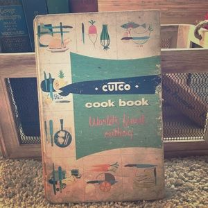 Antique 1st Edition Cutco Cookbook 1952